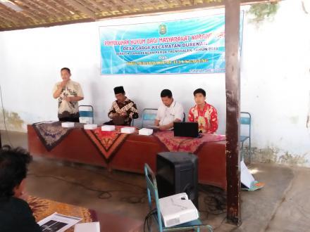 Pada tanggala 16 November 2018 bertempat dibalai desa Gador Kecamatan Durenan Kabupaten Trenggalek d